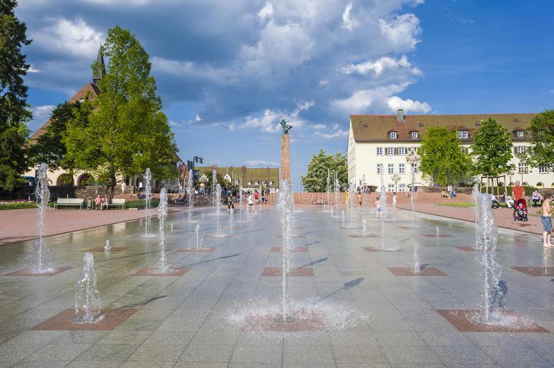 Mijntje's Kiesdag: de fonteinen in Freudenstadt