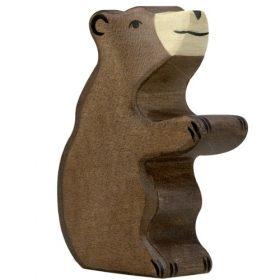 Holztiger bruine beer (zittend) (80186)