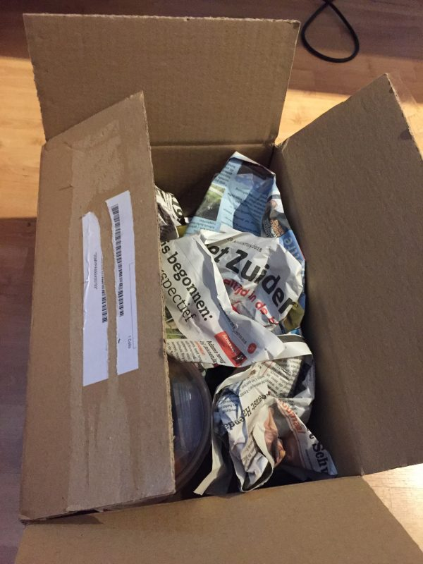 #nowasteweek - hergebruik verpakkingsmateriaal