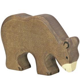 Holztiger bruine beer (groot) (80184)