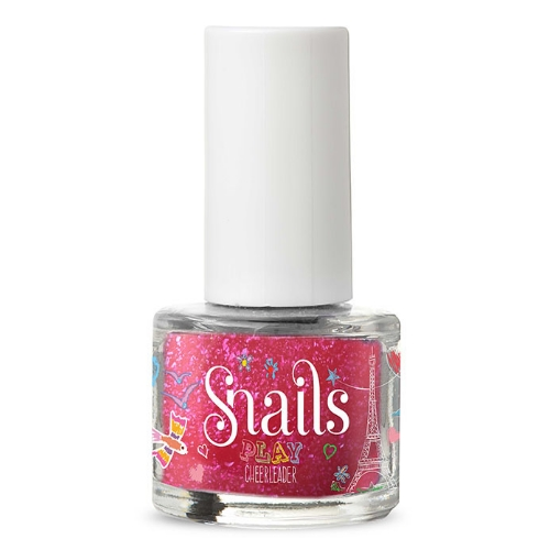 Snails play nagellak- cheerleader