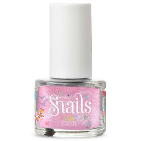 Snails play nagellak- glitter bomb