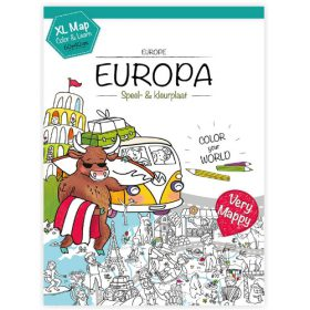 Very Mappy XL klapper Europa