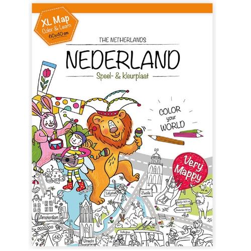 Kleurplaten Van Europa.Very Mappy Xl Klapper Nederland
