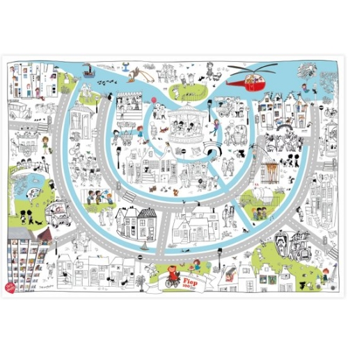 Very Mappy XXL kleurplaat Fiep Westendorp