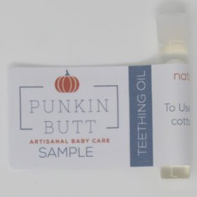 Punkin Butt tandjesolie (sample)