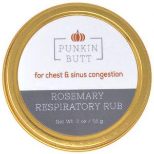 Punkin Butt- luchtwegbalsem met rozemarijn