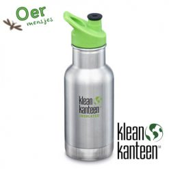 Klean Kanteen Kid- thermosfles sportdop brushed stainless