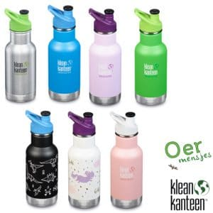 Klean Kanteen Kid- thermosfles sportdop (355ml)