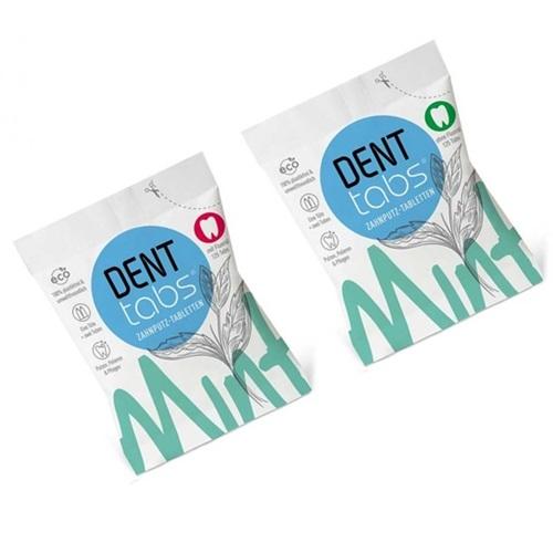 Denttabs tandenpoetstabletten (125 st)