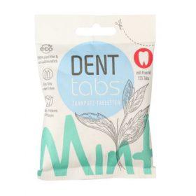 Dentabs tandenpoetstabletten (125 st)