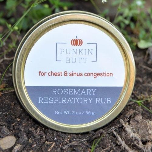 Punkin Butt luchtwegbalsem met rozemarijn
