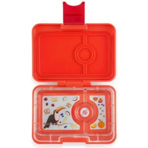 Yumbox mini-snack - saffron orange (3-vaks)
