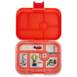 Yumbox original - saffron orange (6-vaks)