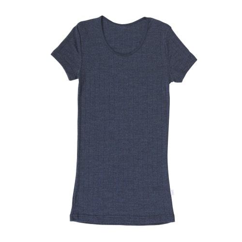 Joha T-shirt (vrouwen) (wol/zijde)- navy