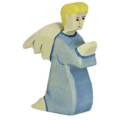 Holztiger knielende engel (80301)