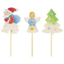 Goki houten kerststekers