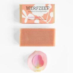 Werfzeep - rozenzeep (100gr)