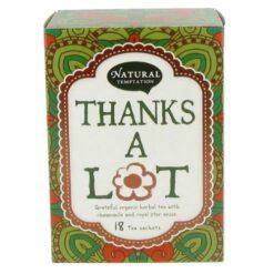 Natural Temptation Tea - Thanks a lot