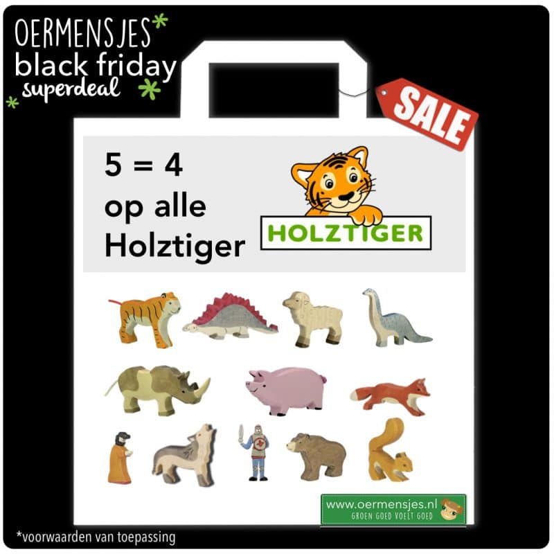 black friday holztiger actie