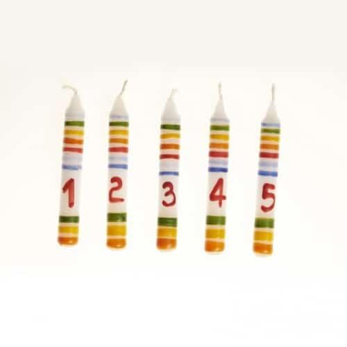 Gluckskafer cijferkaars (1-5) (522711)