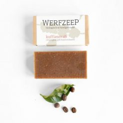 Werfzeep - Koffiescrub (100gr)