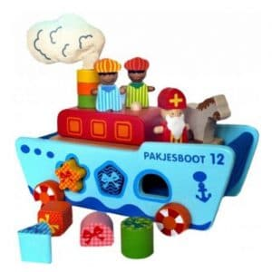 Houten Sinterklaasboot