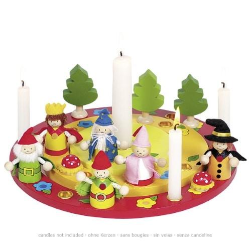 Goki verjaardagsring met sprookjesfiguren