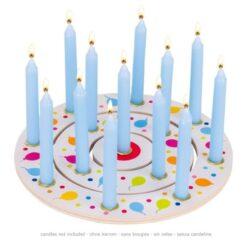 Goki verjaardagsring met ballonnen