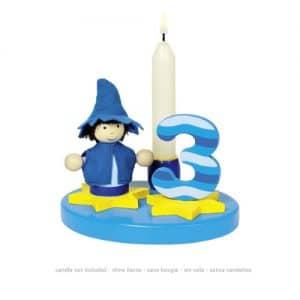 Goki verjaardagsring blauw