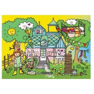 Ansichtkaart Pippi Langkous