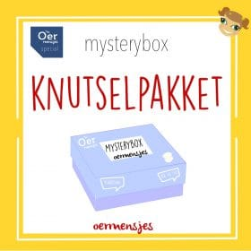 mystery box knutselpakket