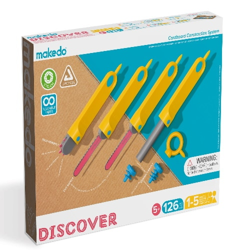 Makedo - discover set (5+)