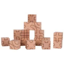 Goki blokken met geometrische figuren