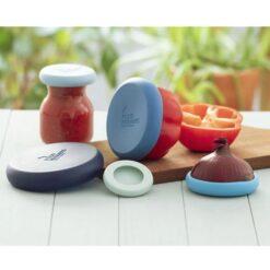 Foodhuggers - set van 5 - Ice Blue