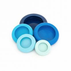 Foodhuggers - set van 5 - Ice Blue