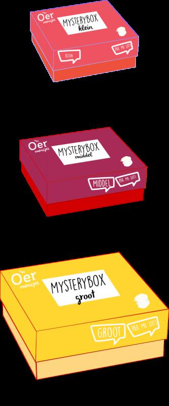 Mysterybox oermensjes