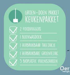 Groen-doen Pakket - keuken