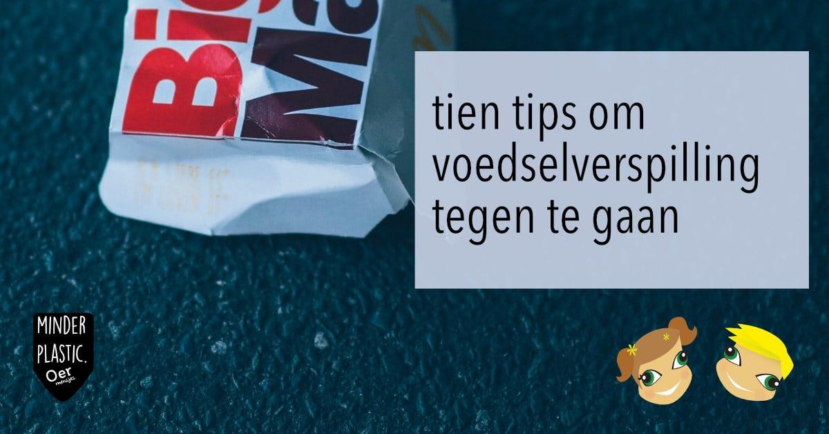 zero waste tip voedselverspilling tegen gaan