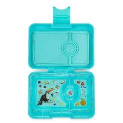 Yumbox mini-snack - Misty Aqua (3-vaks)