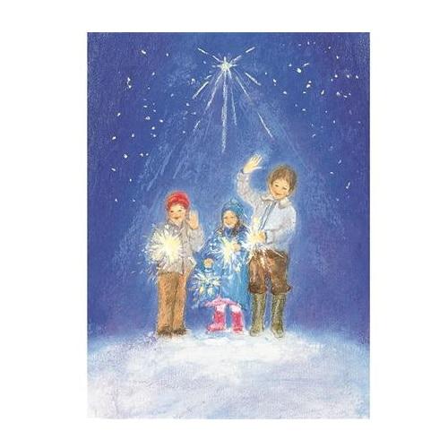 Ansichtkaart Gelukkig Nieuwjaar (Marjan van Zeyl)