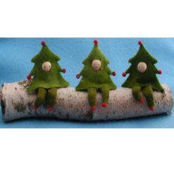 Drie kerstboomboefjes - Atelier Pippilotta