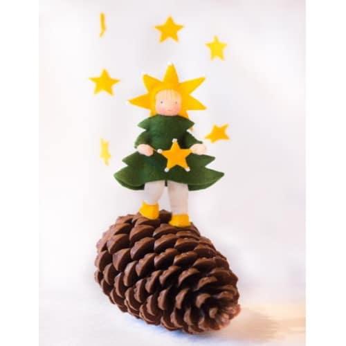 Kerstboomkindje - Atelier Pippilotta