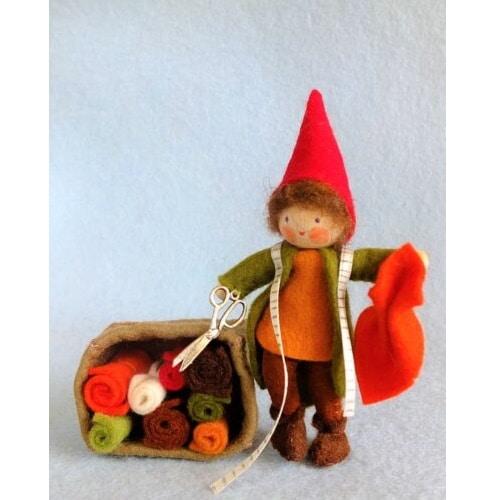 Kabouter Stoffeltje maakt herfstkleren - Atelier Pippilotta