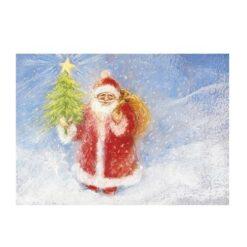 Ansichtkaart Kerstman (Marjan van Zeyl)