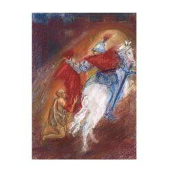 Ansichtkaart Sint Martinus (Marjan van Zeyl)