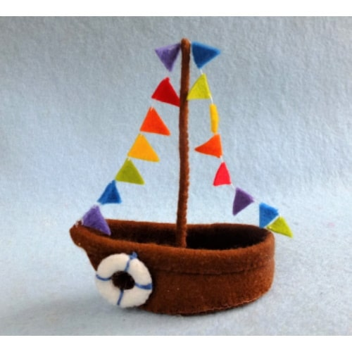 Sinterklaasboot - Atelier Pippilotta