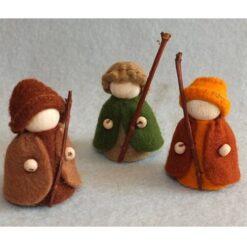 Drie herders - Atelier Pippilotta
