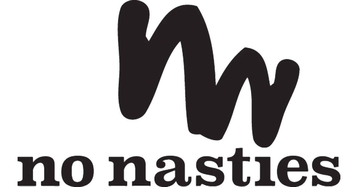 no nasties logo oermensjes