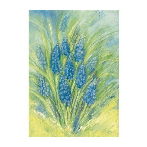 Ansichtkaart Blauwe druifjes (Marjan van Zeyl)